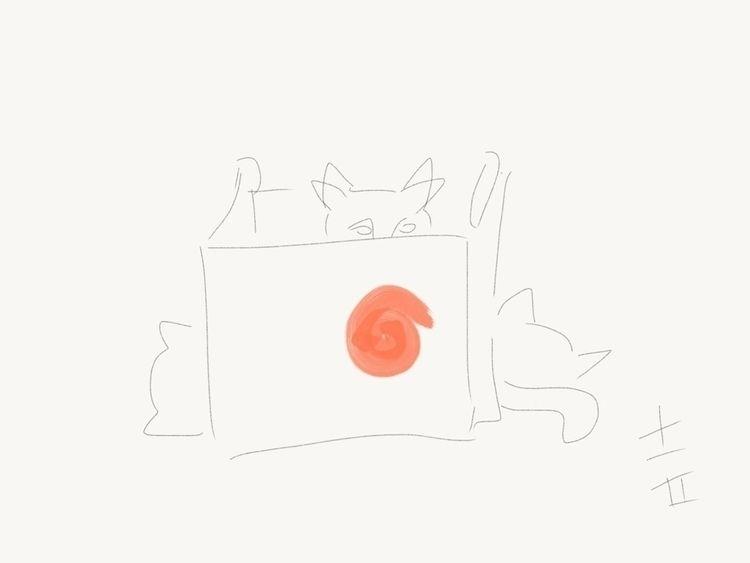 Sushi Kat invasion - reginadoi | ello