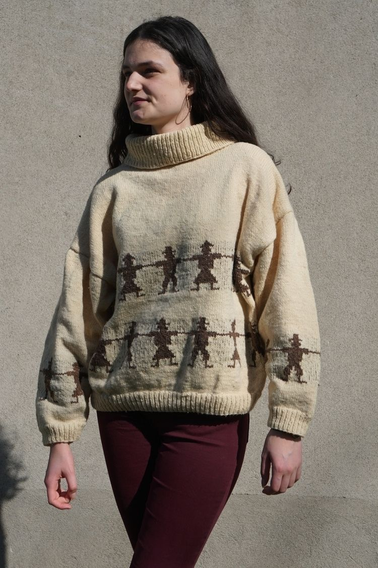 Enez Brunec raw wool sweater la - regourd | ello