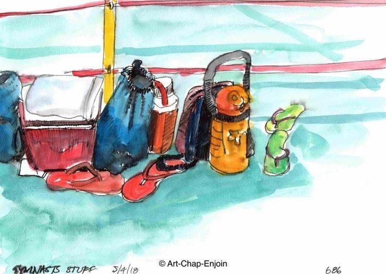 686 - Gymnasts stuff sketched C - artchapenjoin | ello