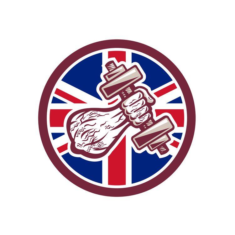 British Personal Trainer Dumbbe - patrimonio | ello