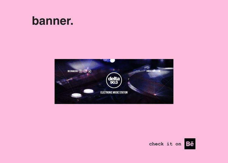 banner. social media, youtube,  - rocha_rma | ello