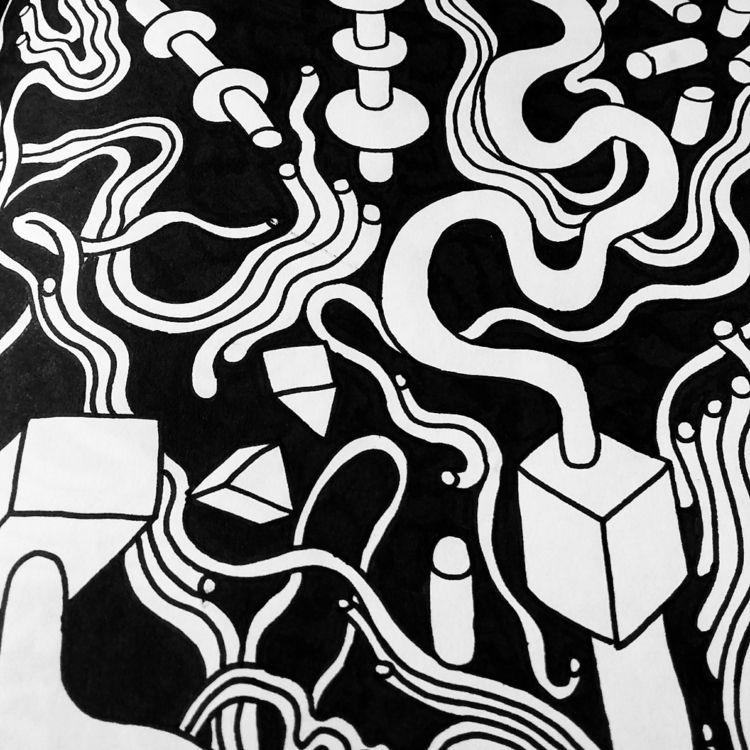Sketch book drawing. 2018. Lara - burnt_drawings | ello