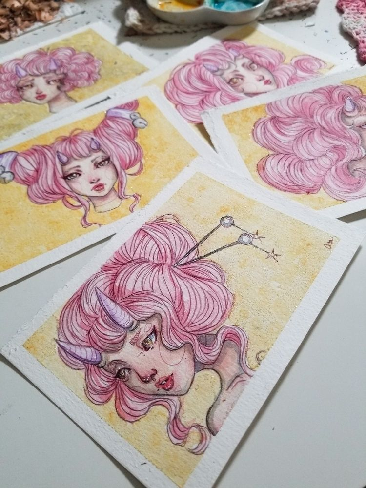 patreon postcards complete! dro - absoluteama | ello
