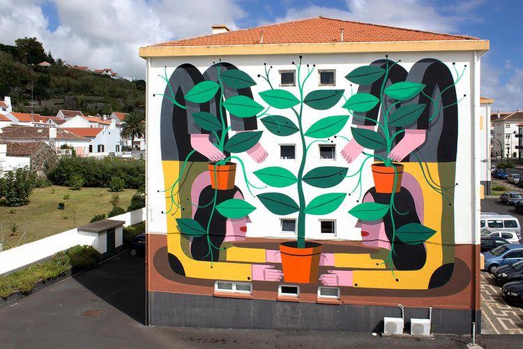 Wall murals Agostino Iacurci - inag | ello