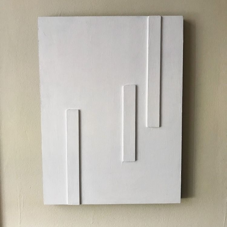 Untitled. Wood panel wood strip - thoffman   ello