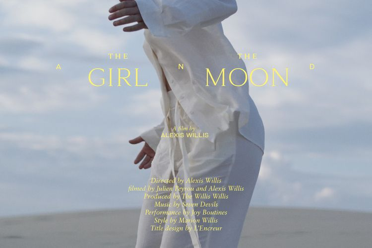Girl Moon Title design film Che - lencreur | ello