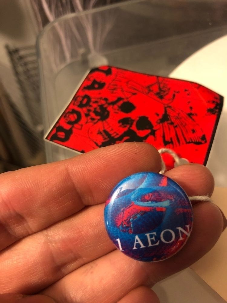 1Aeon skull sticker 1 snake but - 1aeon | ello