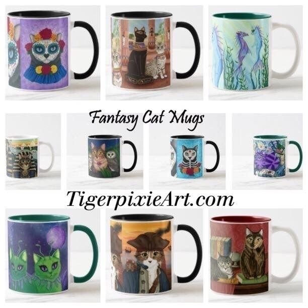 50% Mugs Lots Zazzle, Code - ZS - tigerpixie | ello