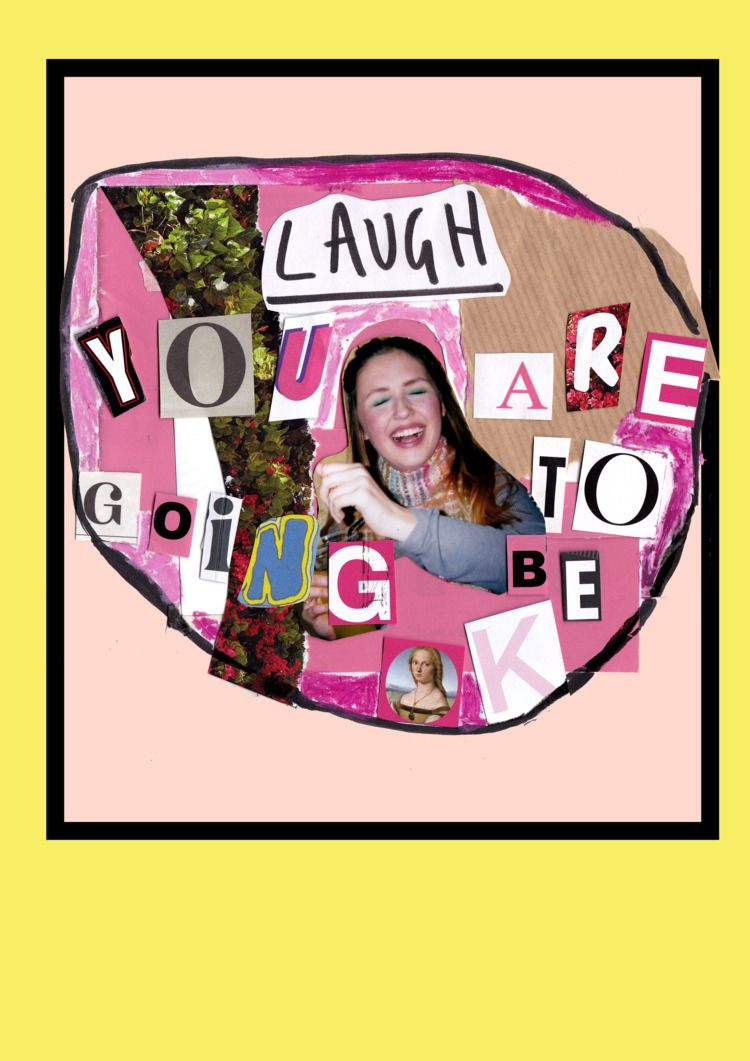 Laugh - ellocollage, collage, collageartist - jazminali | ello