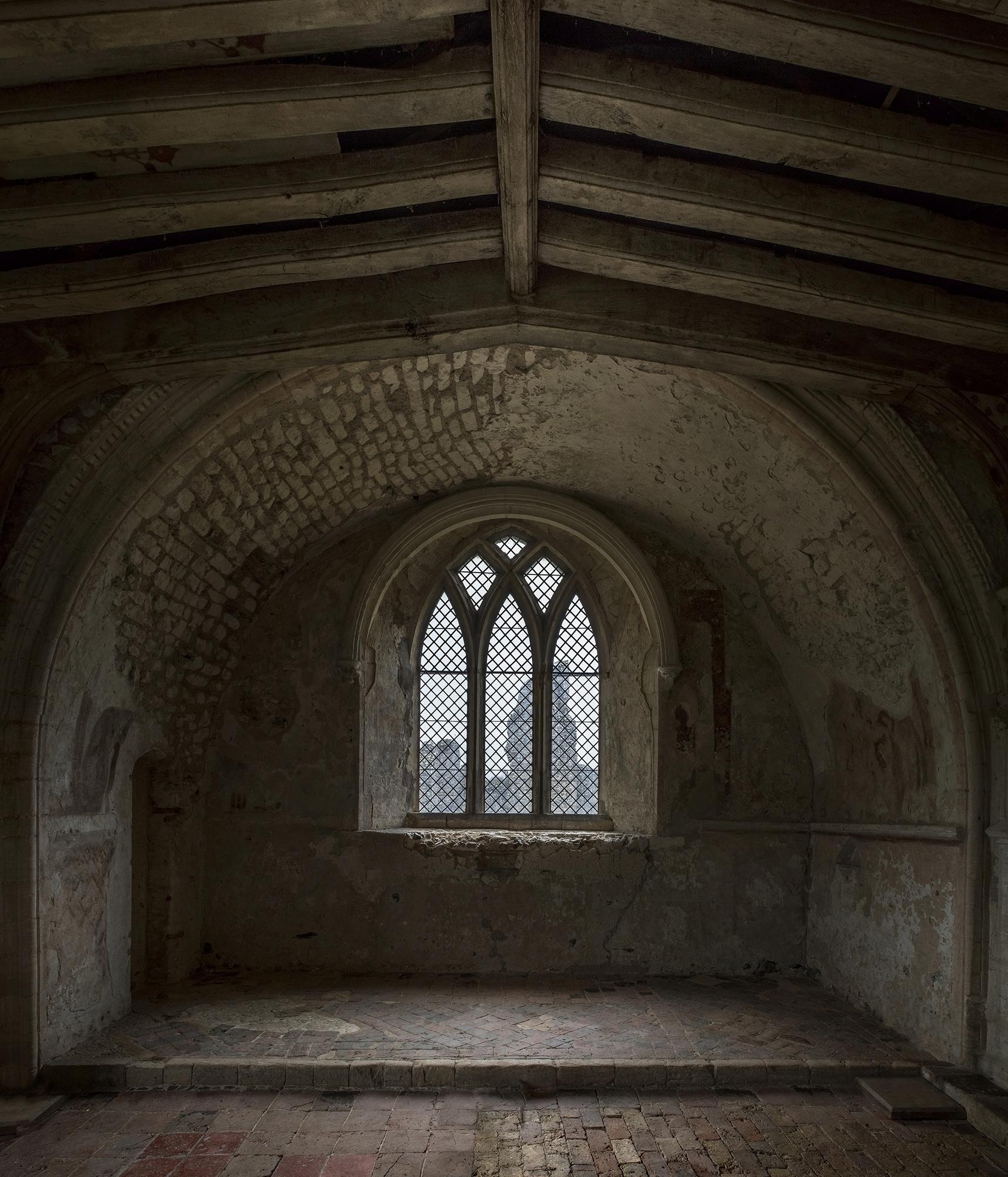 interior shot Castle Acre Prior - forgottenheritage | ello