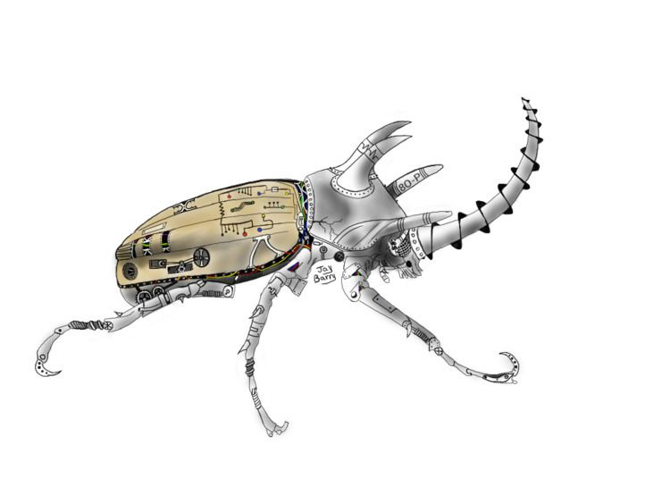 Mechanized Rhinoceros Beetle. m - mapperjay | ello