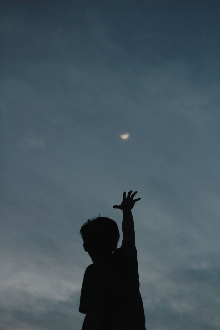 reach moon - photography, sillhouette - rafiif | ello