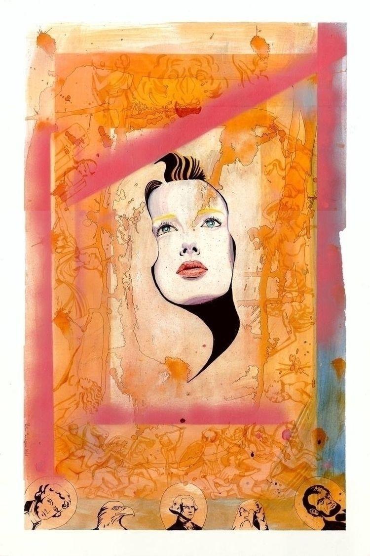 chaos ... watercolor ink spray  - vertojan | ello