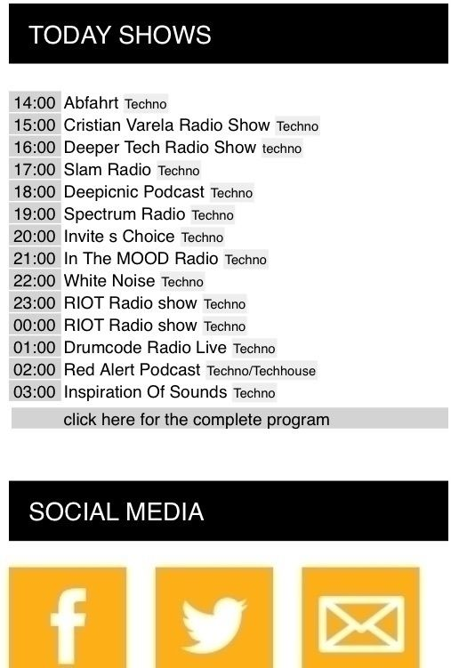 Today program inprogressradio.c - inprogressradio | ello