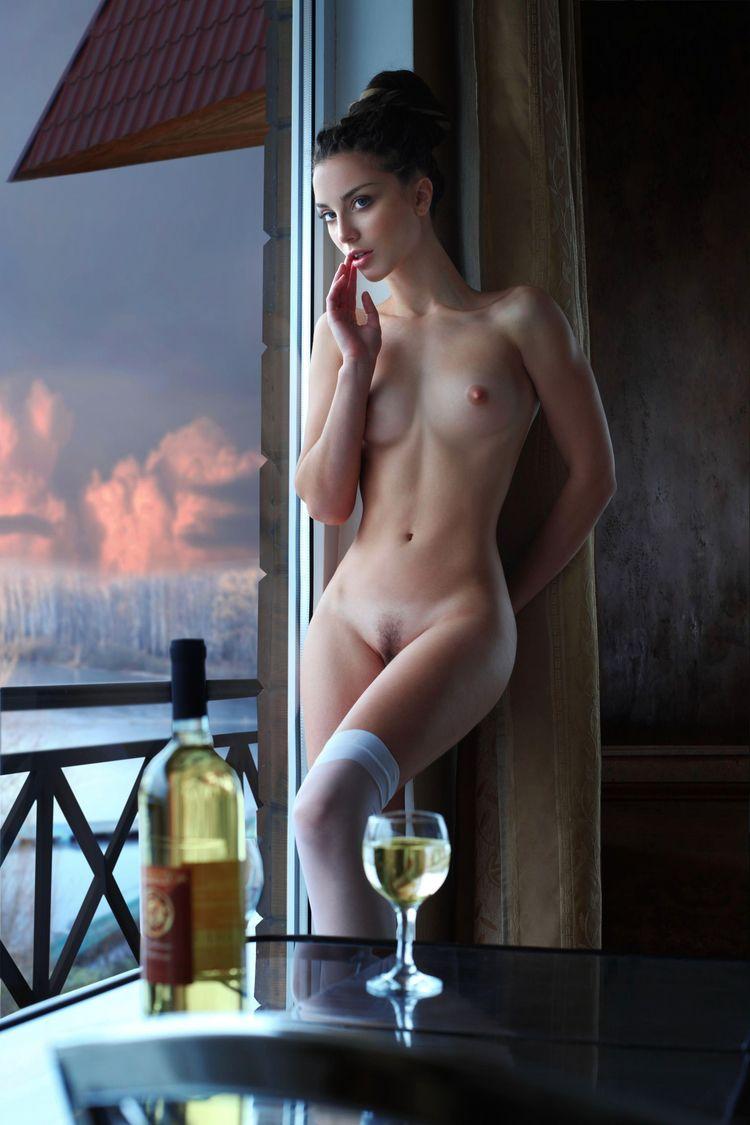 brunette, tits, naked, nude, window - ukimalefu | ello