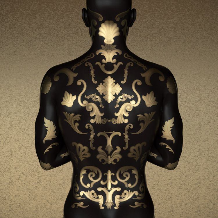 Digital bodypaint - 3D, digital - z3rogravity | ello