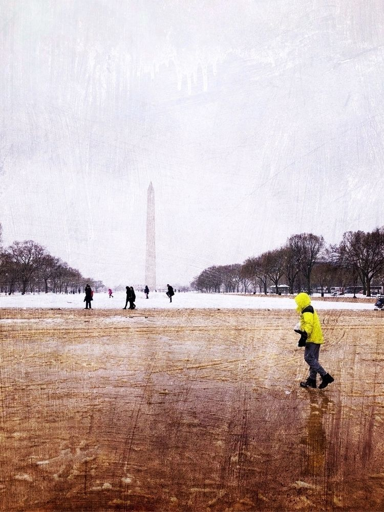 DC snow storm March - streetphotography - lali_olivia | ello