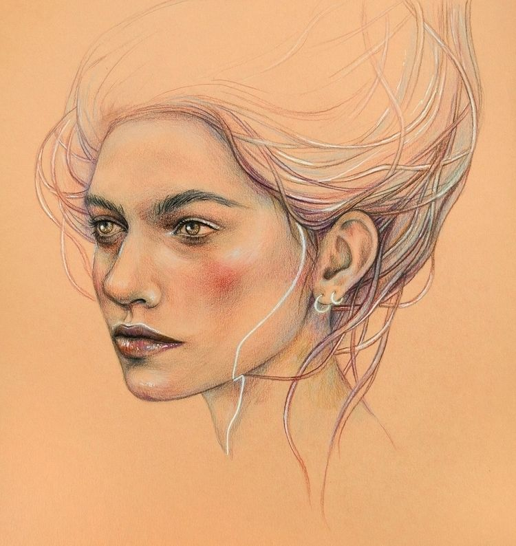 Lovin' Leavin' Colored pencils  - anakurist | ello