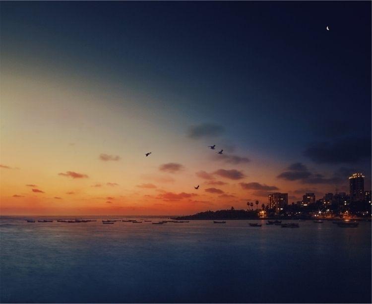 Day turning night - Mumbai, Ello - riazhassan | ello