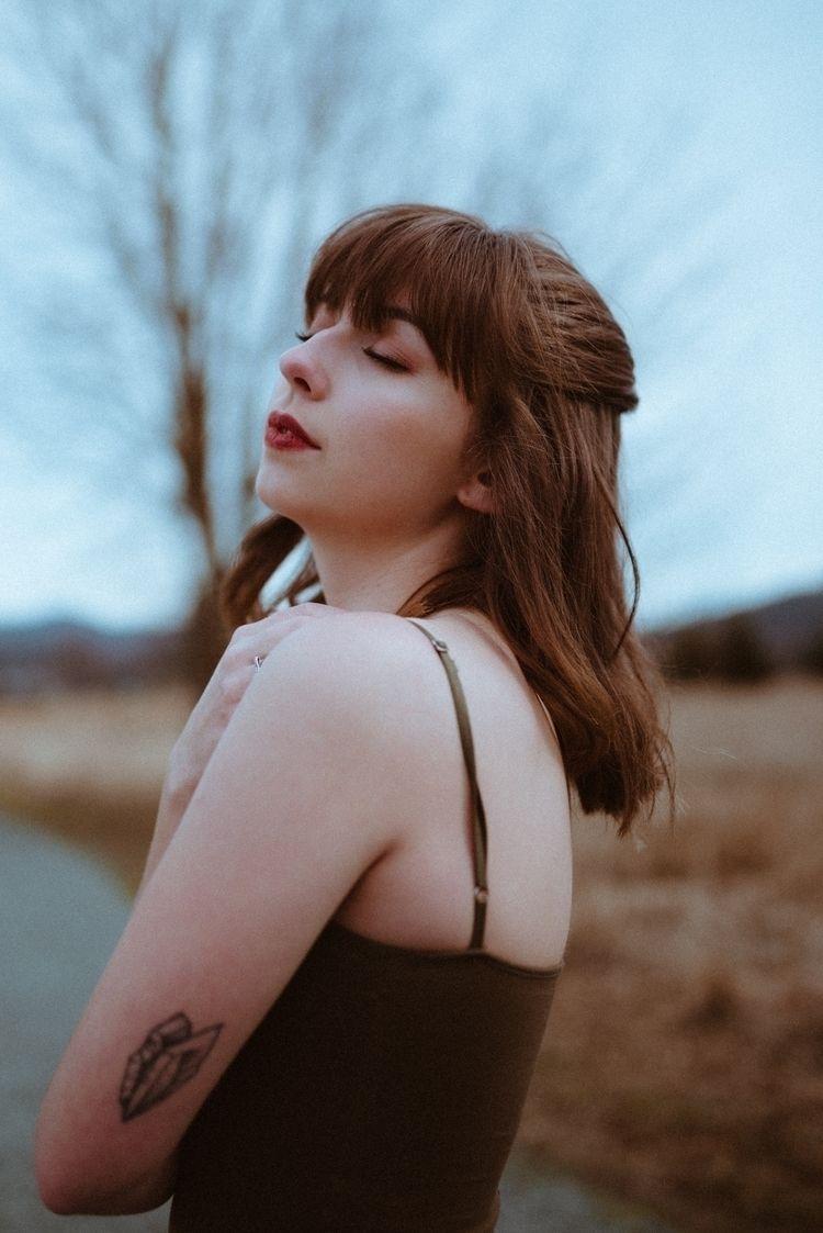 Model Maddie - moody, portrait, photography - mrvnhrrr | ello