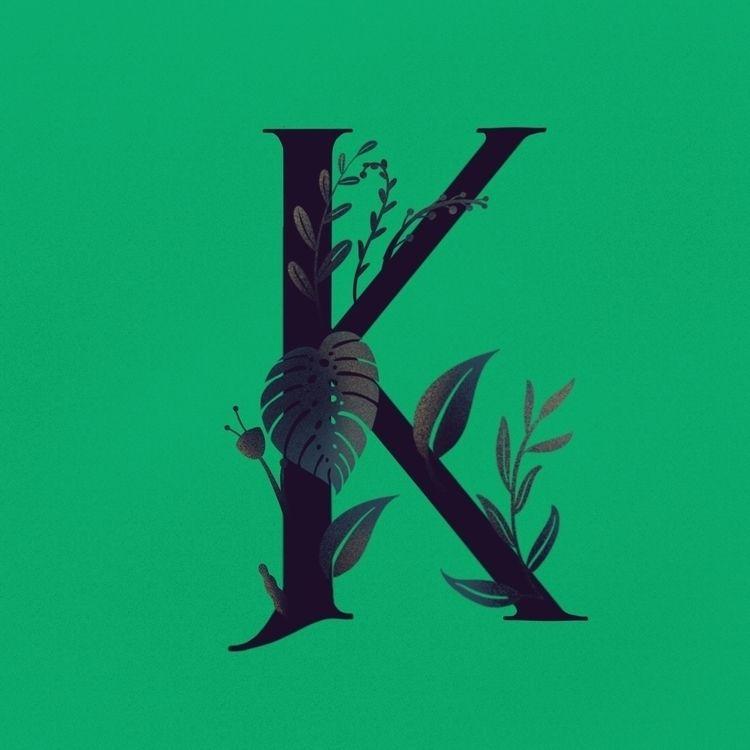 96/365 - 36days_k, 365rounds, lettering - marcolpz | ello