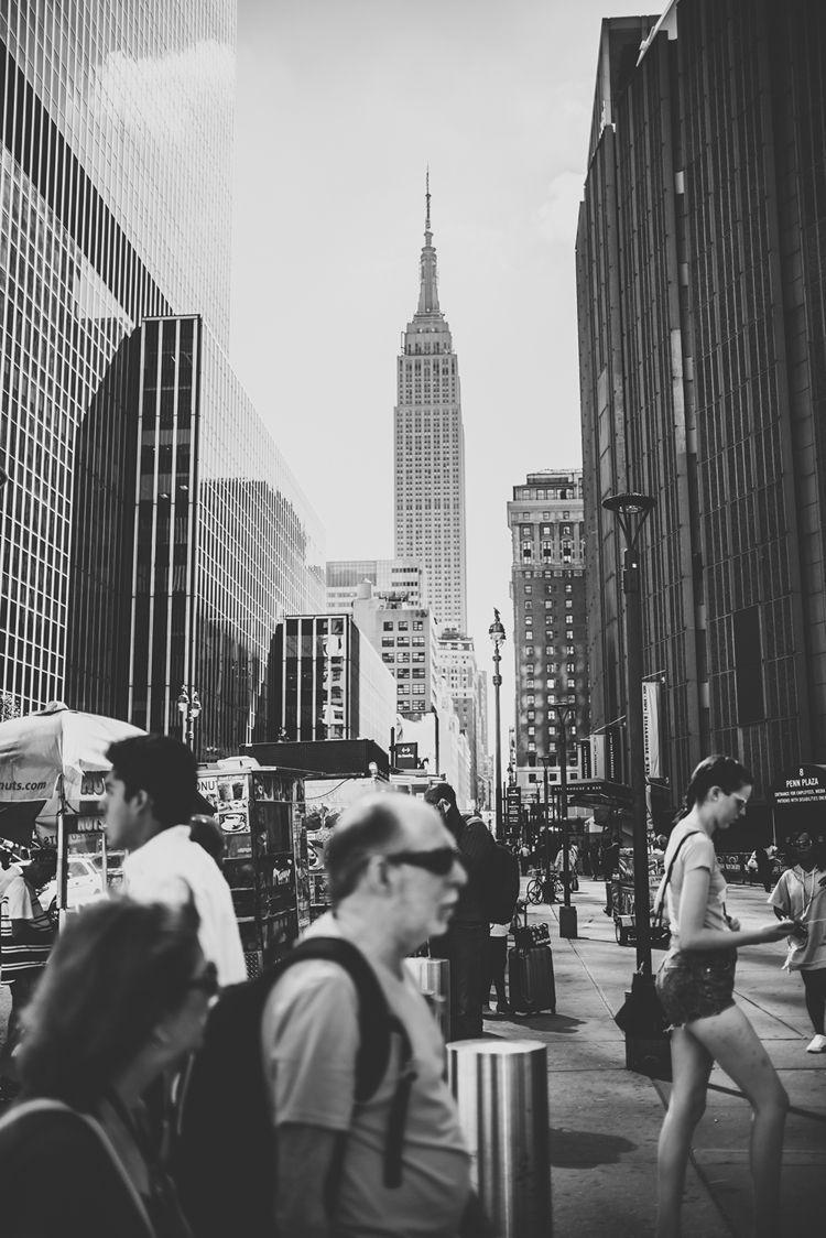 blackandwhite, newyorkcity, streetphotography - marysiabil | ello