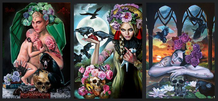 Beautiful oil paintings Italian - nettculture | ello