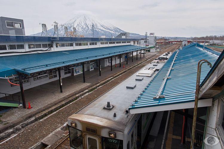 Train station. commute Kutchan  - pentaxke | ello
