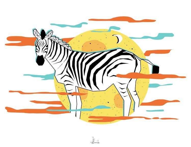 Zebra - everhooder | ello
