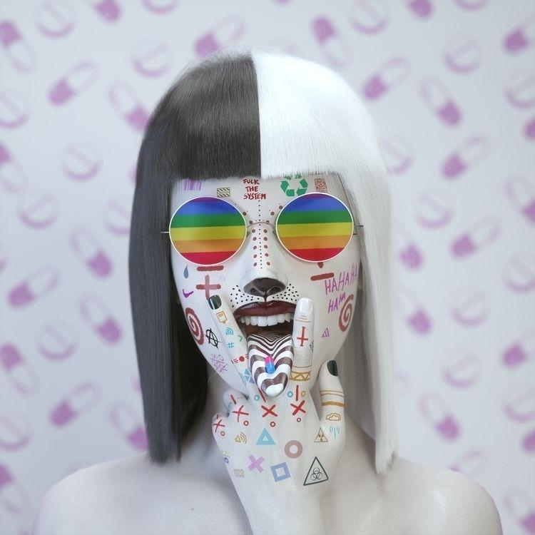 Pop culture - digitalart, illustration - darioveruari   ello
