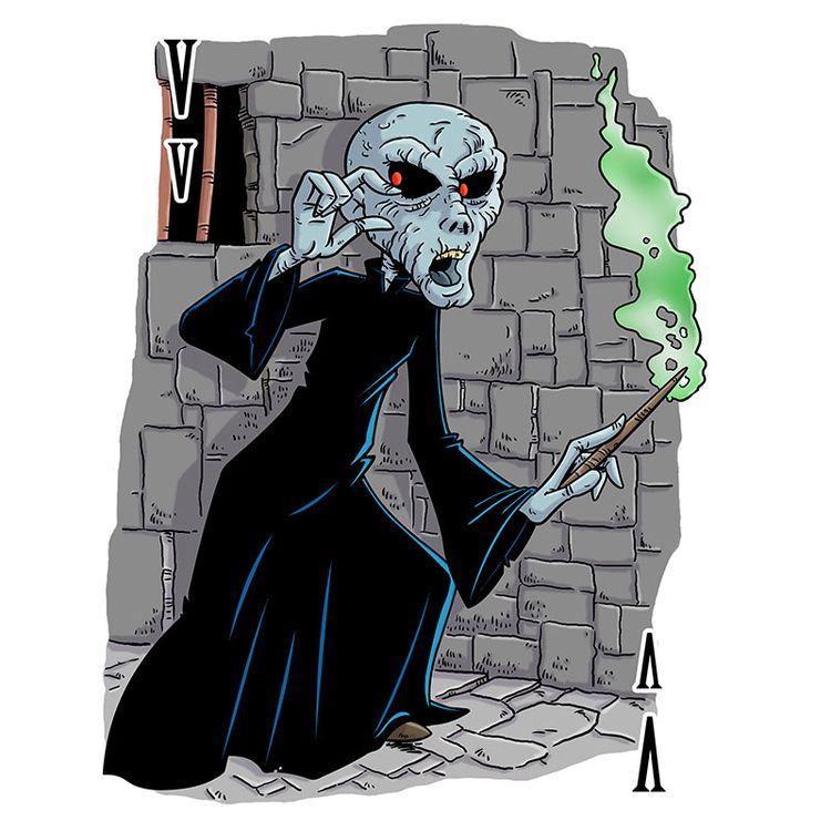 Voldemort drawn Animal Alphabet - dave_windett | ello