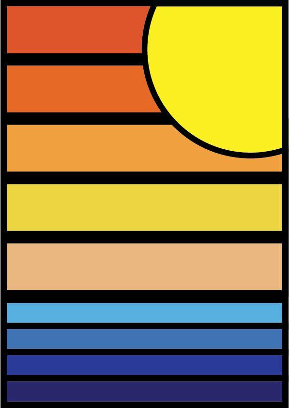 Sunset - triiniitydesigns | ello