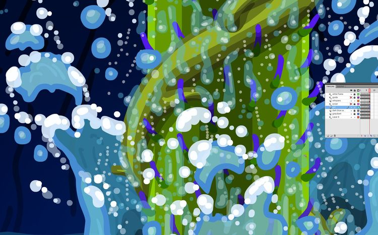 Drawing water fx book, BALL - graphicnovel - theanimatedwoman | ello