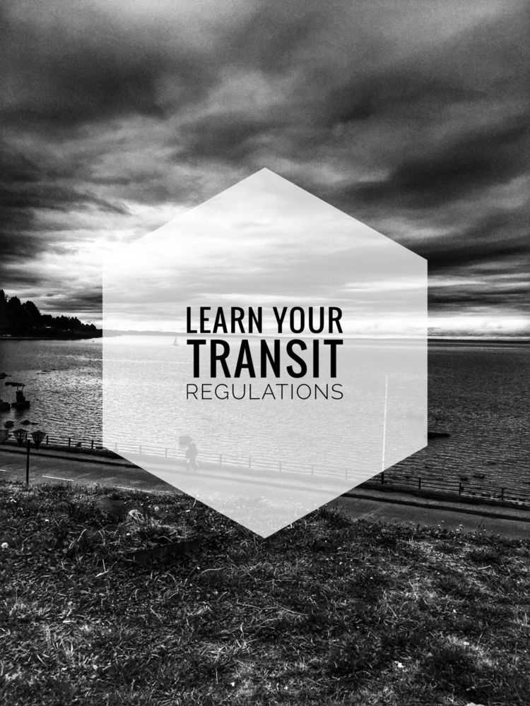 Learn transit regulations - learn - renspacemadness | ello