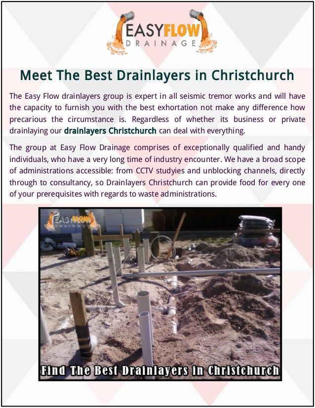 Meet - DrainlayersChristchurch - easyflowdrainagenz | ello