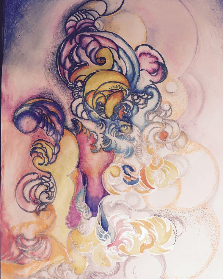 colors paper.. sense  - vedika | ello