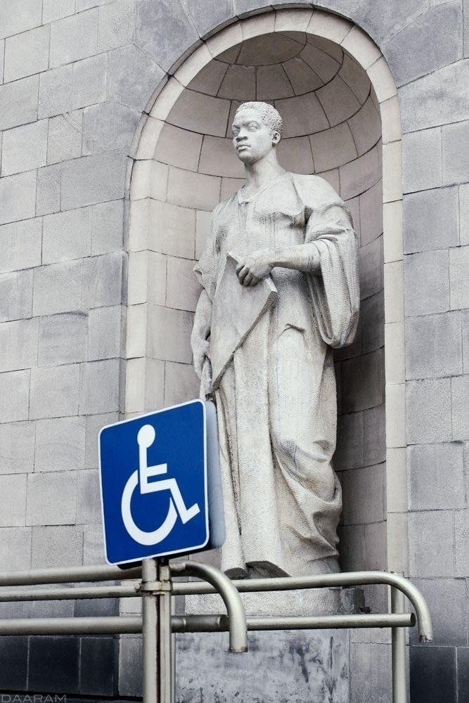 Disabled people?: Statue Palace - daaram | ello