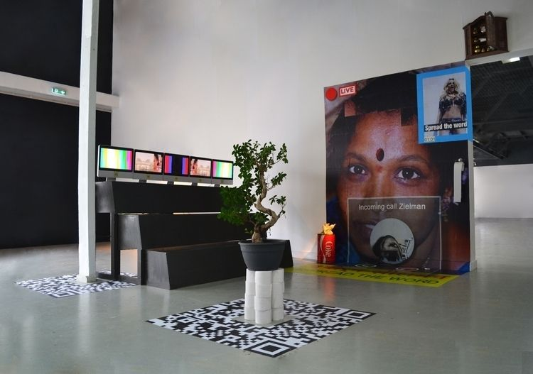 ; 1 - installation, SPREADTHEWORD - bjornzielman   ello