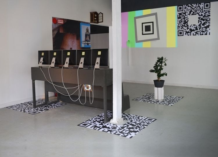 ; 1 - installation, SPREADTHEWORD - bjornzielman | ello
