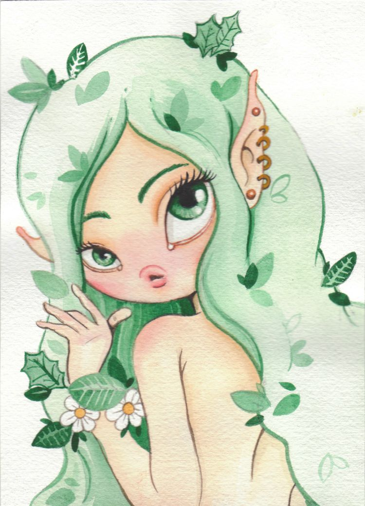 daily doodle small watercolor w - smushbox | ello