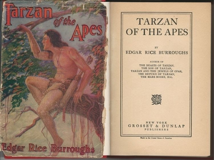 Tarzan Apes, 1914 edition, orig - ccruzme | ello