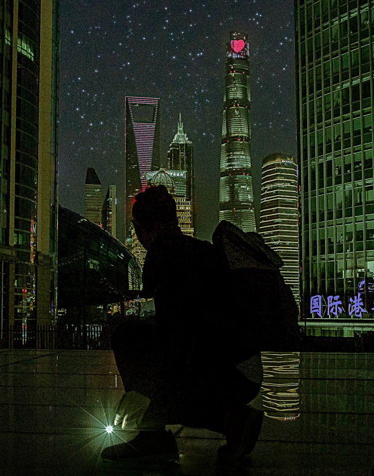 Shanghai Night city, night, eye - weiding | ello