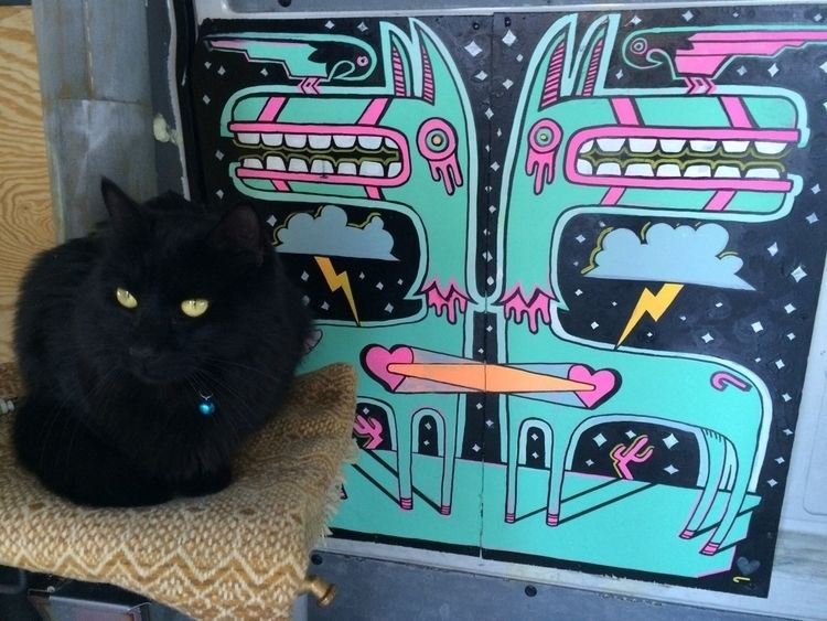 Sprinter Van interior - pono, blackcat - pono | ello