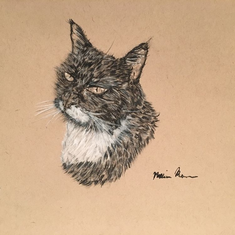 Portrait- Marvin (2017) Melissa - melissa-m-romeo | ello