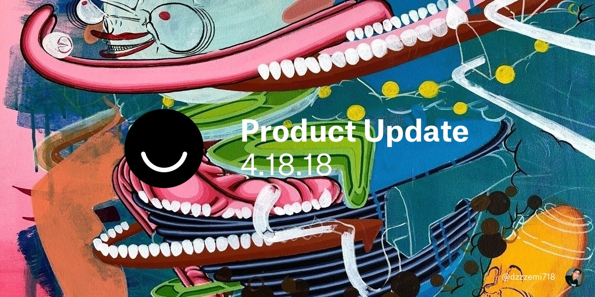 Hey folks. Big updates week, in - lucian | ello