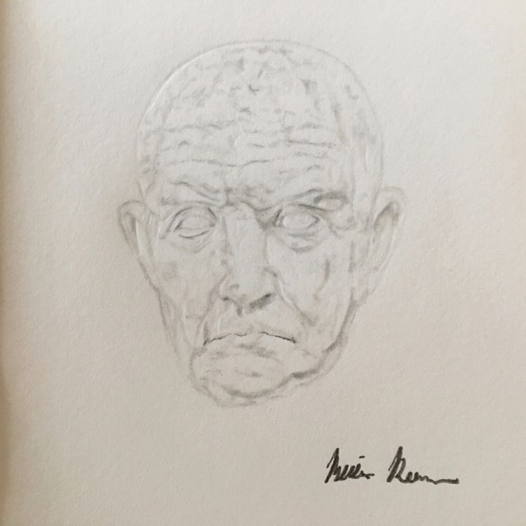 Marble Bust Man- Personal Study - melissa-m-romeo   ello