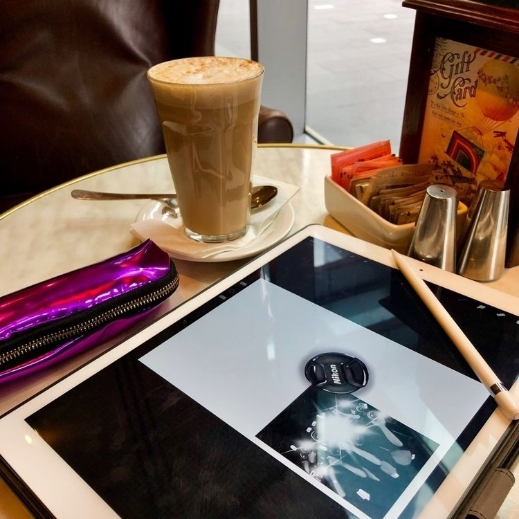 Coffee comic book work today  - sereninspired - nightrav3n | ello