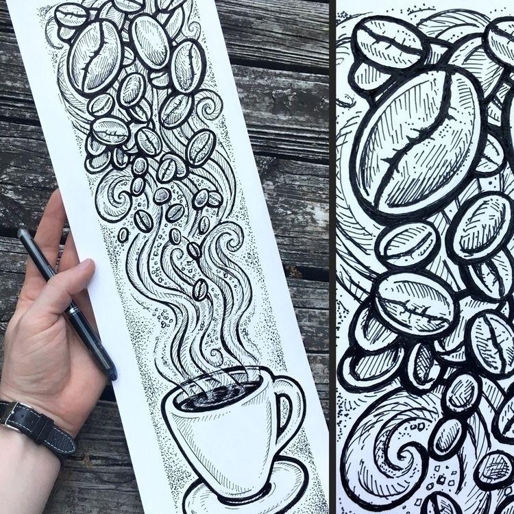 Coffee Beans Galore!! 6x18 ball - bradalbright | ello