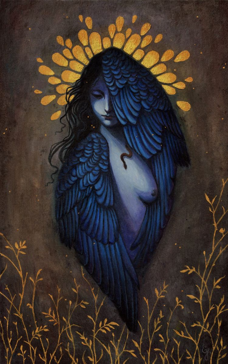 'Divine Fertility' Caroline Jam - wowxwow | ello