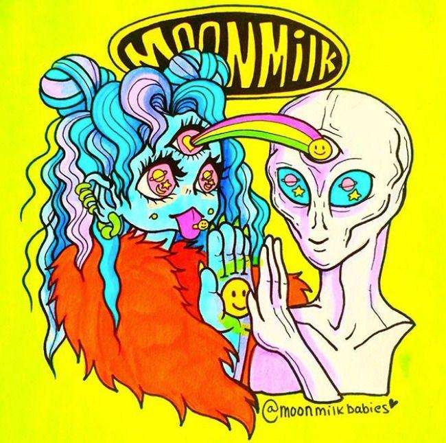 Cool friends space cosmic - moonmilkbabies   ello